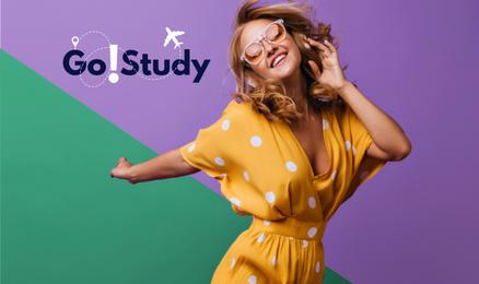 Go!Study – paroda apie studijas užsienyje! (ONLINE)