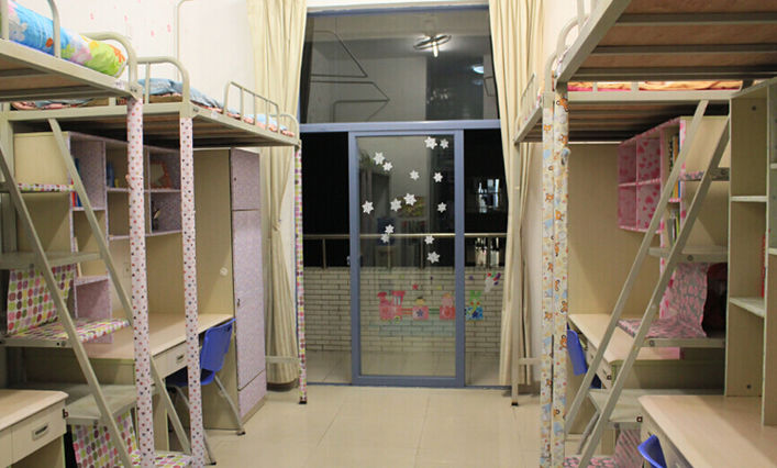 Jilin University dormitory room