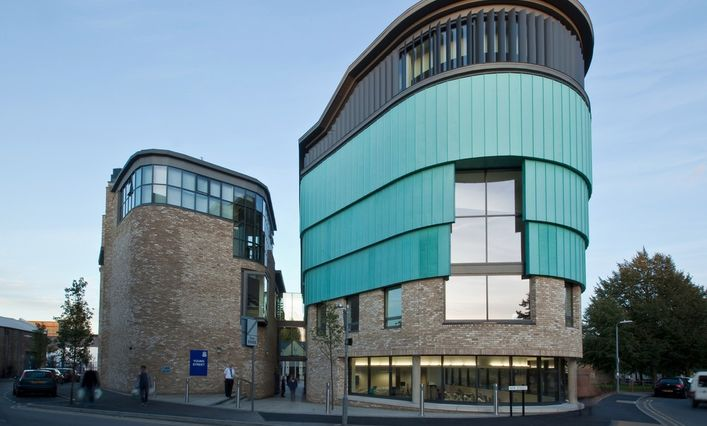 Anglia Ruskin's new Young Street building