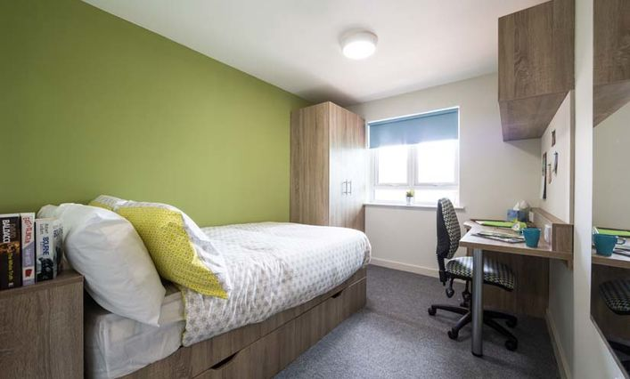 Birmingham City University student accomodation
