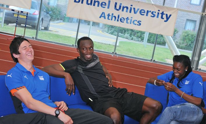 Sport Facilities - Usain Bolt at Brunel University