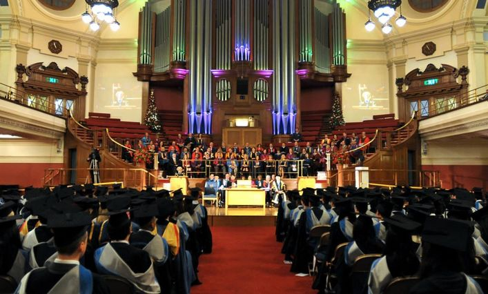 Brunel University London graduation ceremony