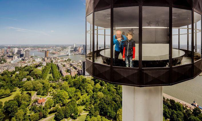 Euromast bokštas Roterdame